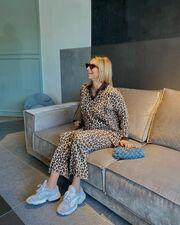 Τόλμησε το total leopard στυλ, όπως η Μαρίζα Μπαιρακτάρη