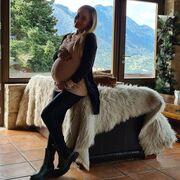 Βασιλική Μιλλούση: Οι φωτογραφίες στο Instagram λίγο πριν γεννήσει