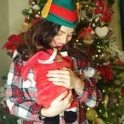 Κρυσταλλία : Εκανε γνωστή την εγκυμοσύνη της τον Αύγουστο και τον Δεκέμβρη έφερε στον κόσμο το πρώτο της παιδί.