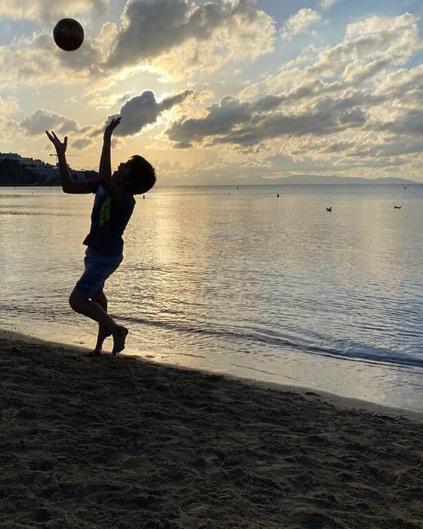 Γενέθλια για τον γιο της Έλλης Κοκκίνου: Η σπάνια φώτο του που ανήρτησε