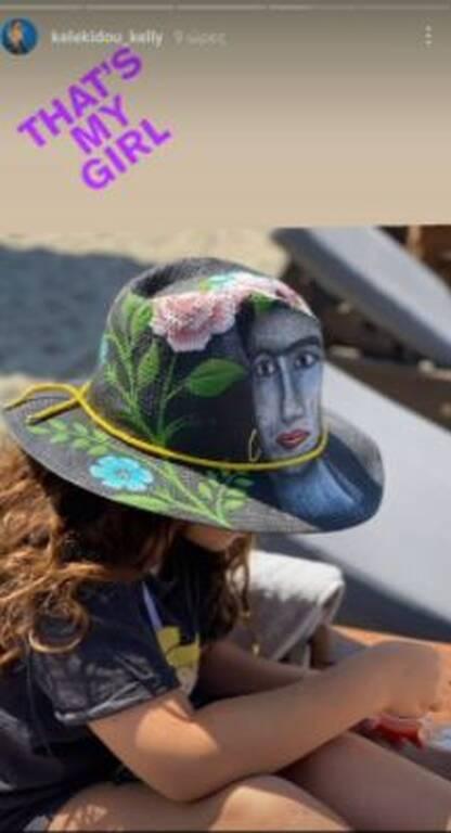 Κέλλυ Κελεκίδου: Η υπέροχη φωτογραφία της κόρης της στη θάλασσα