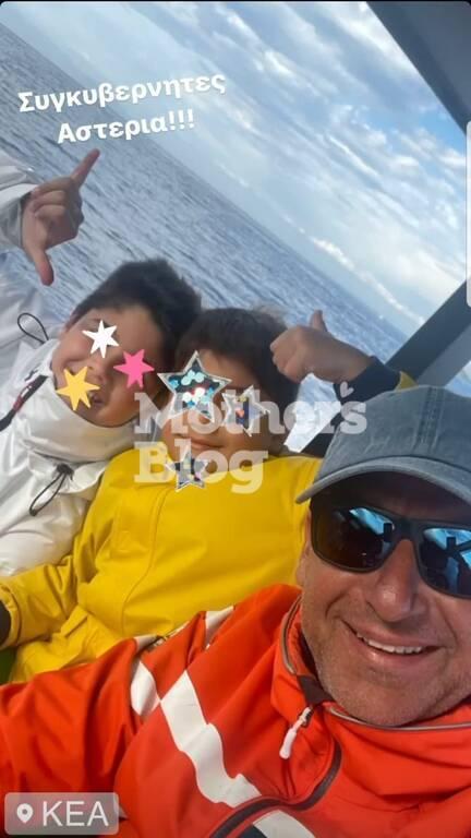 Φαίη Σκορδά: Δείτε το άθλημα που κάνει ο γιος της