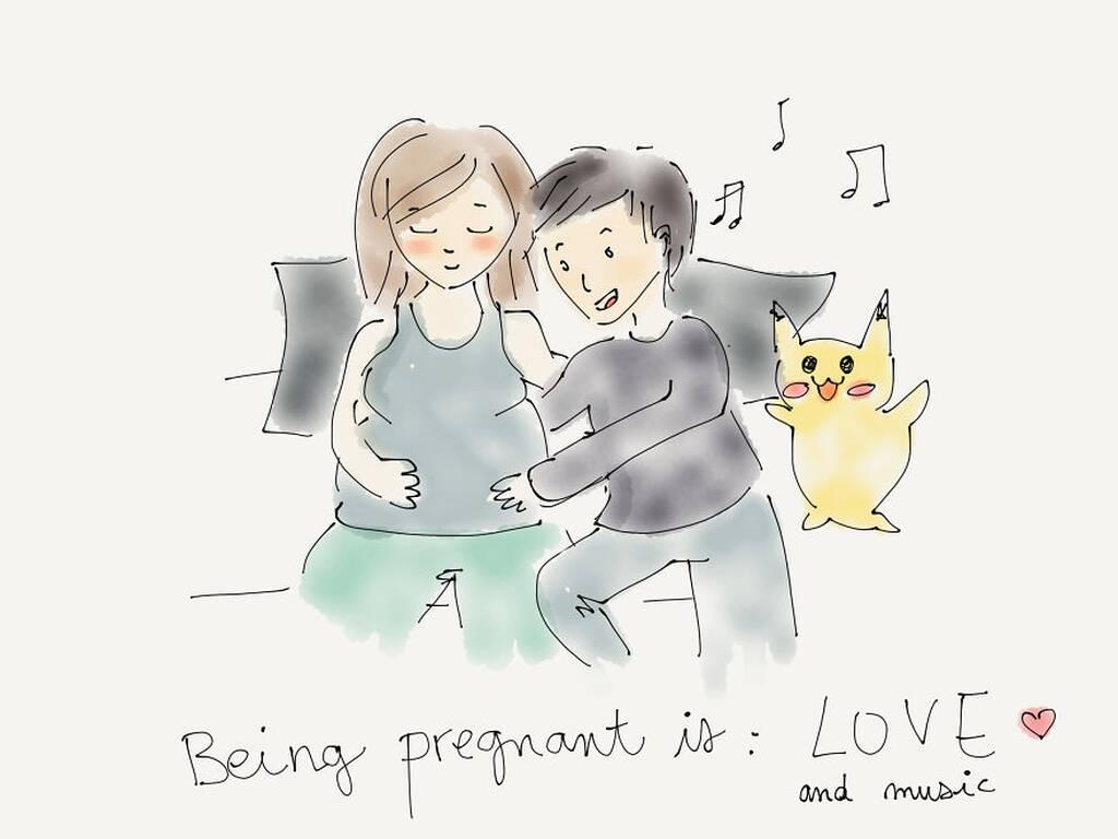 Έτσι είναι το να είσαι έγκυος - Τα χιουμοριστικά σκίτσα μίας μέλλουσα μαμάς