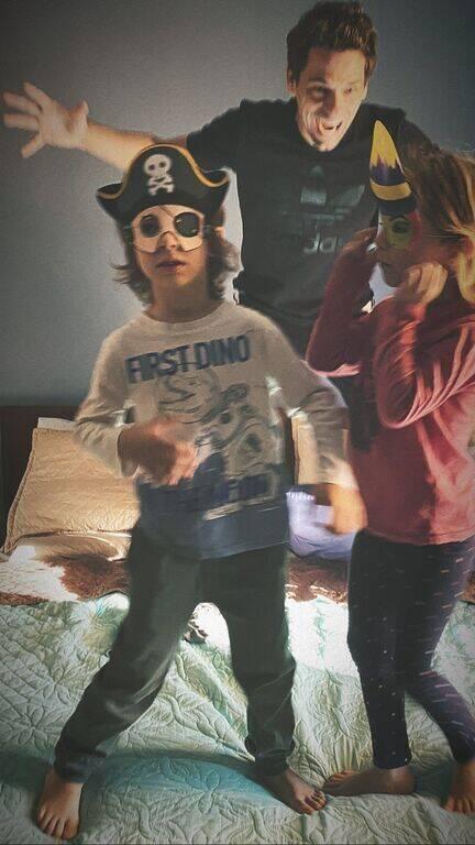 Αποστόλης Τότσικας: Η υπέροχη φωτογραφία με τα παιδιά του