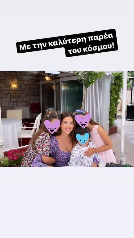 Σταματίνα Τσιμτσιλή: Μια περήφανη μαμά-Δείτε τις κόρες της να παίζουν πιάνο