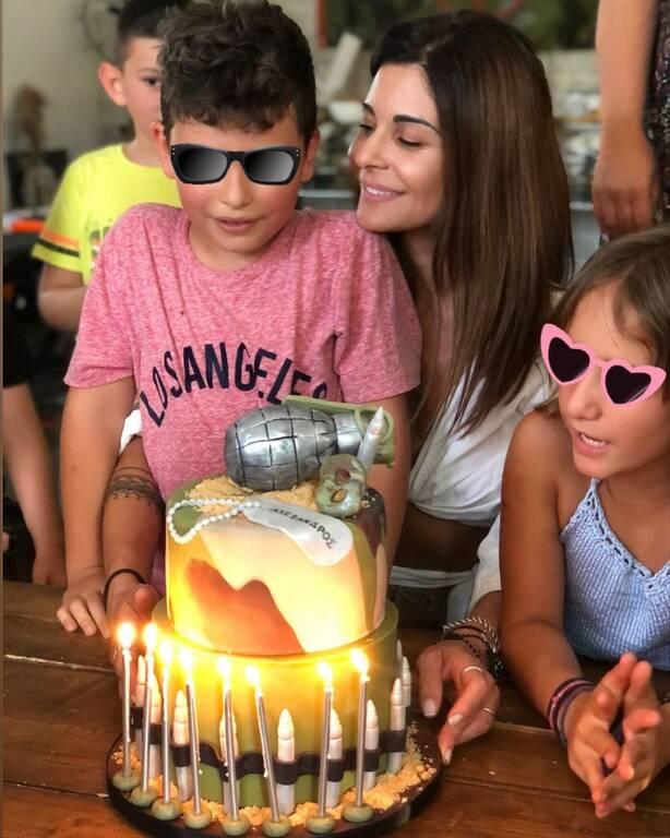 Ειρήνη Κολιδά: Ο γιος της έγινε 8 ετών -Δείτε την εντυπωσιακή τούρτα