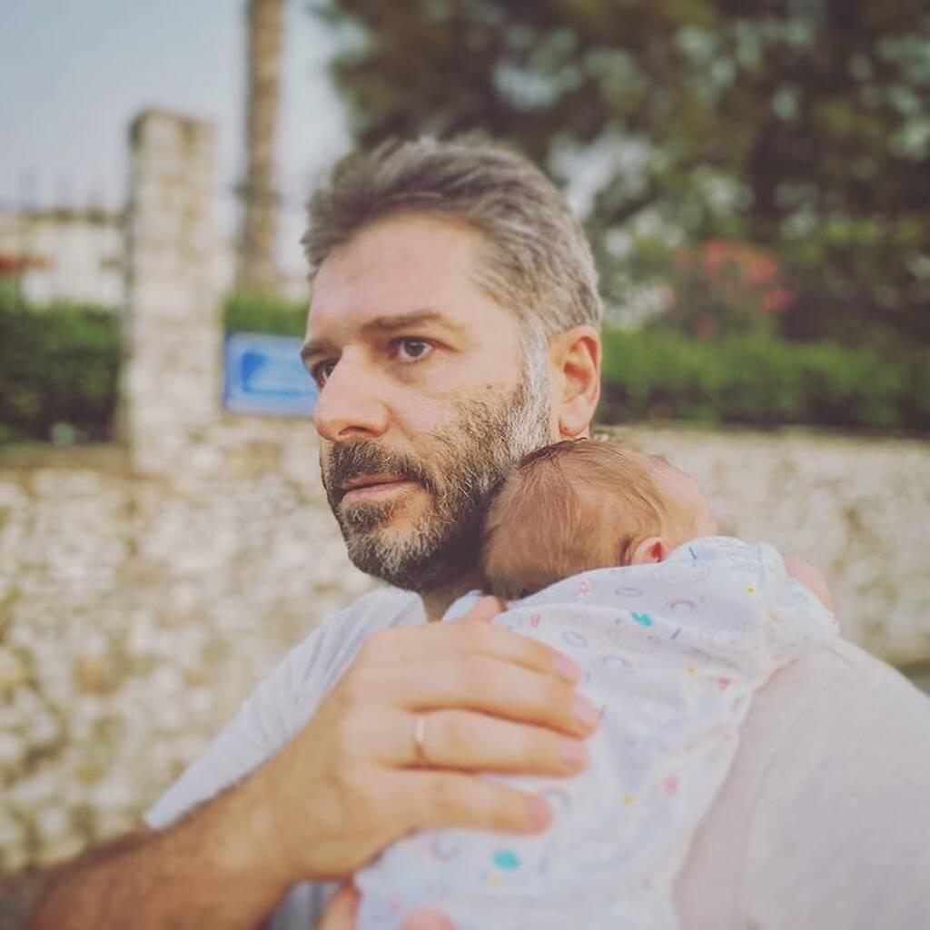 Μπουρδούμης - Δροσάκη: Ο γιος τους έγινε ενός - Δείτε φωτογραφίες