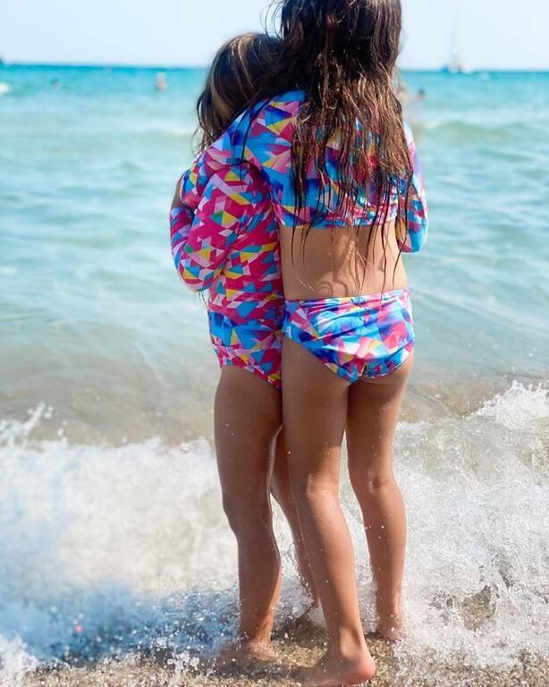 Ελιάνα Χρυσικοπούλου: Δημοσίευσε την πιο τρυφερή φωτογραφία με τις κόρες της
