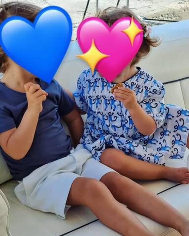 Δούκισσα Νομικού: Το πρωινό που τρώει στις διακοπές με τα παιδιά της