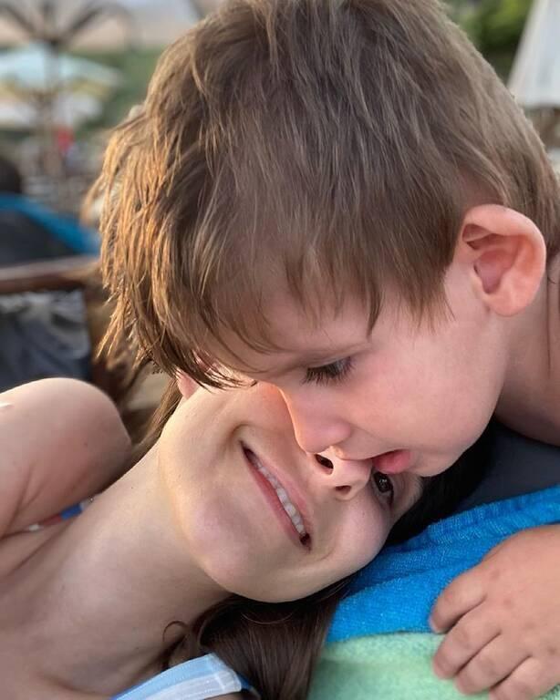 Φωτεινή Αθερίδου: Η τελευταία φώτο με τον γιο της πριν αρχίσει παιδικό σταθμό