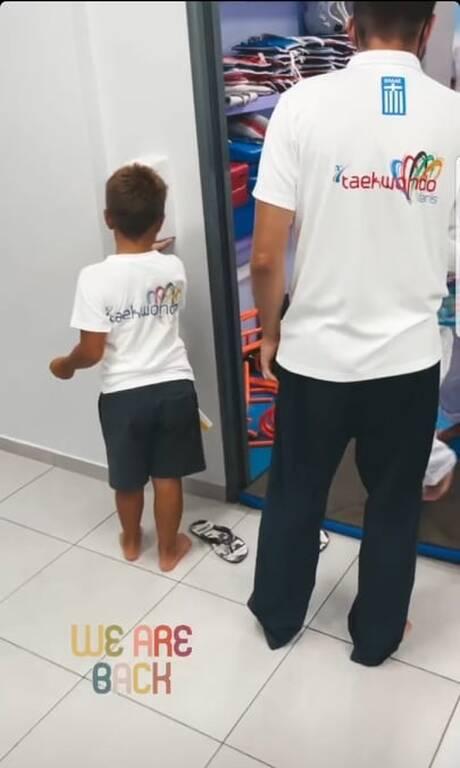Φαίη Σκορδά: Η εξωσχολική δραστηριότητα που κάνει ο γιος της εκτός από κολύμβηση