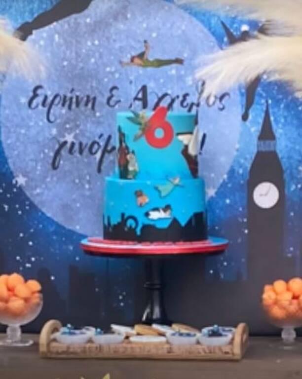 Ρέβη - Τότσικας: Έτσι γιόρτασαν τα γενέθλια των δίδυμων παιδιών τους