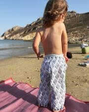 Δούκισσα Νομικού: Κυριακάτικη εξόρμηση με τα παιδιά στη θάλασσα (εικόνες)