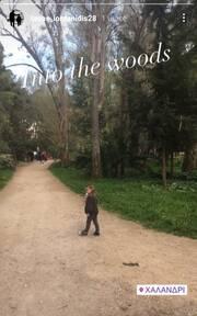 Τάσος Ιορδανίδης: Η τρυφερή αγκαλιά με την βασίλισσά του, την κόρη του