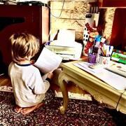 Μελέτης Ηλίας: Έφτιαξε cookie pops με τα παιδιά του – Δείτε φώτο