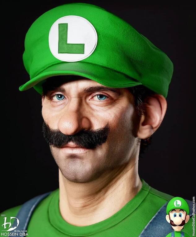 O Luigi  από τον Super Mario