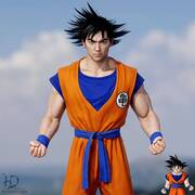O Goku από το Dragon Ball