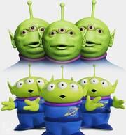 Οι εξωγήινοι από το Toy Story