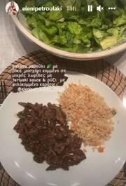 Ελένη Πετρουλάκη: Με την κόρη της στην κουζίνα - Δείτε τι μαγείρεψαν