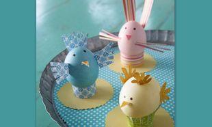 Χειροποίητα αυγά… λαγουδάκια, πουλιά και κοτούλες!