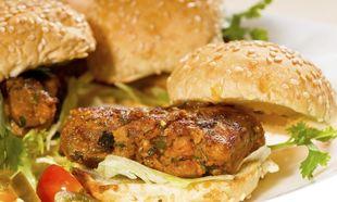 Μίνι burgers με κοτόπουλο