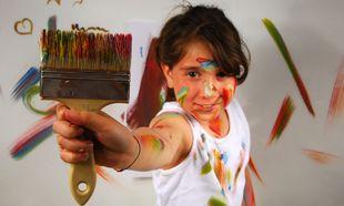 Βάψτε το παιδικό δωμάτιο μαζί με το παιδί σας!