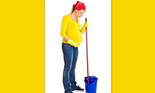 Καθαριστικά και εγκυμοσύνη: Πόσο επικίνδυνο είναι;