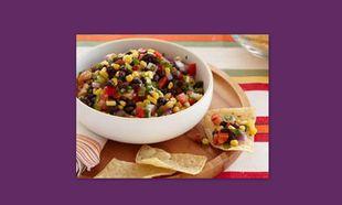 Μεξικάνικη σαλάτα με φασόλια και καλαμπόκι