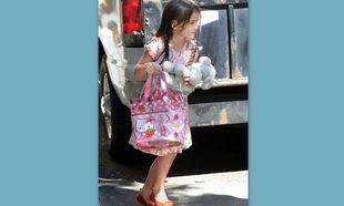 Η Suri Cruise είναι φαν της Hello Kitty