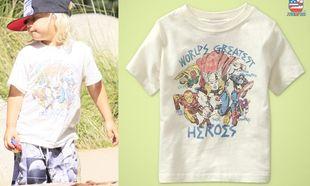 Οι Σούπερ – ήρωες σε μπλουζάκια