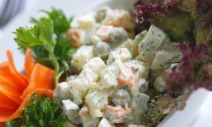 Φτιάξτε ρώσικη σαλάτα μόνες σας!