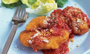 Κοτόπουλο με παρμεζάνα, σε μια πανεύκολη συνταγή!