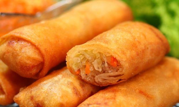 Εύκολα σπιτικά spring rolls με λαχανικά για τα πιτσιρίκια σας!