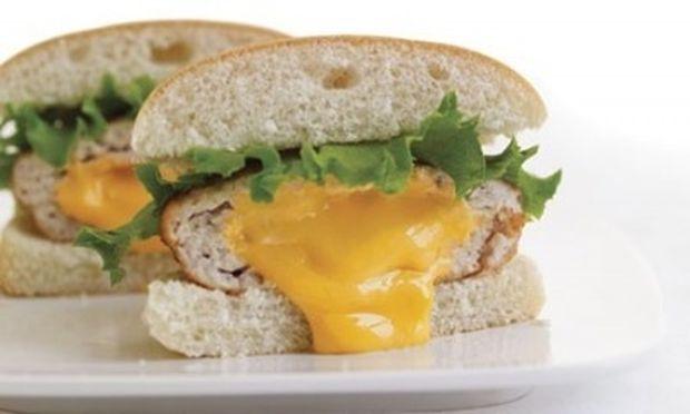 Ένα διαφορετικό burger γαλοπούλας