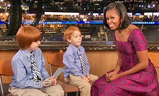Τι λένε τα παιδάκια στη Michelle Obama; (video)