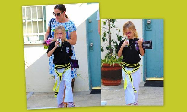 Η κόρη της Jennifer Garner μαθαίνει καράτε!