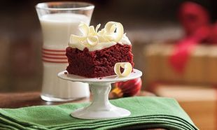 Κι όμως υπάρχει και κόκκινο brownie!