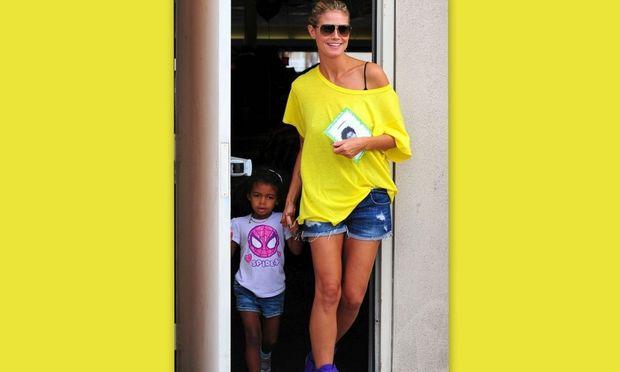 Heidi Klum: Βόλτα με τα παιδιά της!