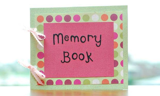 Δημιουργήστε ένα βιβλίο γεμάτο αναμνήσεις