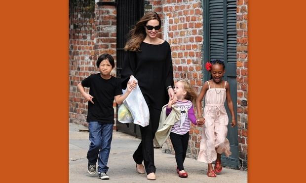 Η Angelina Jolie δεν μιλά για τις εκπαιδευτικές μεθόδους που χρησιμοποιεί για τα παιδιά της!