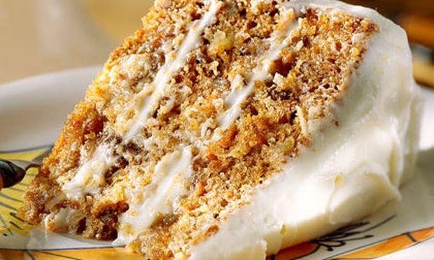 Κέικ καρότου για τις απογευματινές ορέξεις!