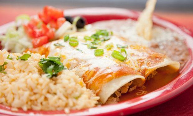 Παραδοσιακές enchiladas!