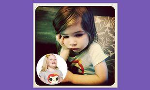 Η κόρη της Tiffany Thiessen με το πιο γλυκό μπλουζάκι