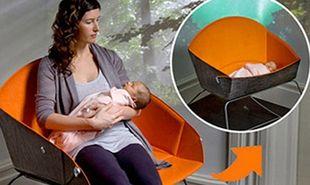 Καρέκλα που γίνεται κρεβάτι νεογέννητου!