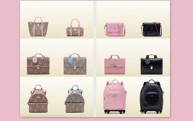 Σχολικά σακίδια και παιδικές τσάντες από τον οίκο Gucci