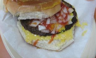 Τα ανάποδα cheeseburger