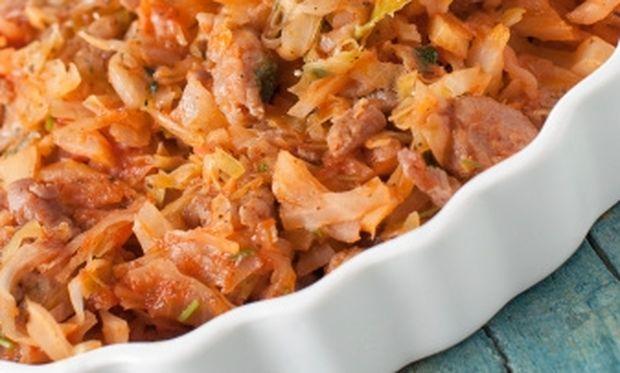 Λαχταριστές μπουκίτσες χοιρινού με λάχανο!