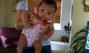 Βίντεο: Τη βάζουν να χορεύει με το ζόρι και εκείνη δεν διαμαρτύρεται!