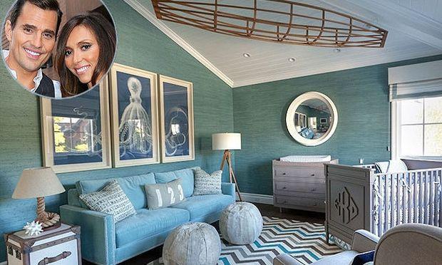 Το ναυτικό παιδικό δωμάτιο του γιου της Giulianna Rancic