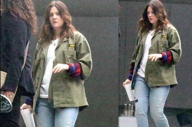 Drew Barrymore: Δεν την ενδιαφέρει να χάσει τα κιλά της εγκυμοσύνης της!